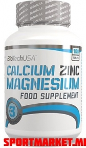 CALCIUM ZINC MAGNESIUM (100 tab)