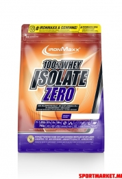 100%-WHEY ISOLATE ZERO - 750G BAG