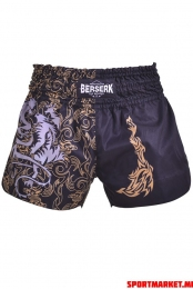 Pantaloni scurți BERSERK MUAY THAI FIGHTER black