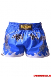 Pantaloni scurți BERSERK MUAY THAI FIGHTER blue