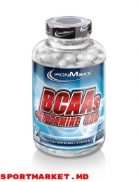 BCAAS + GLUTAMINE 800 (130 caps)